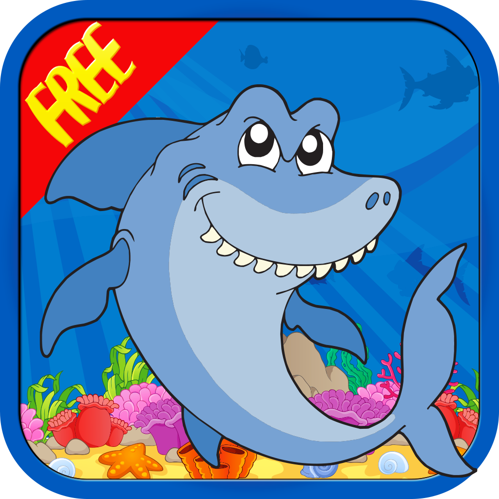 FREE Cute Fishy Escape : Avoid the Hungry Sharks