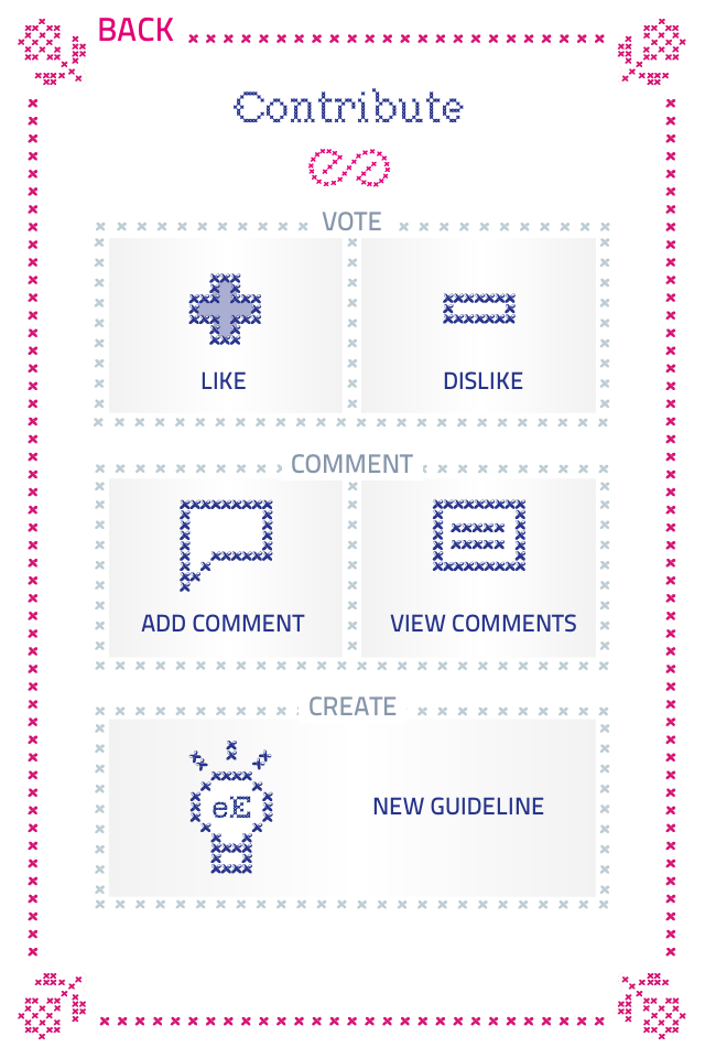 Screenshot eEtiquette Quiz – 101 guidelines for the digital world